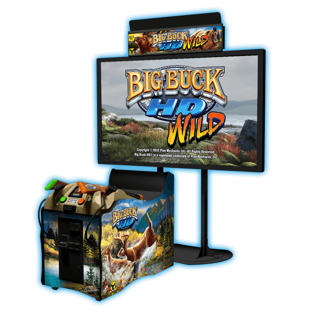 Big Buck® HD WILD – Raw Thrills, Inc