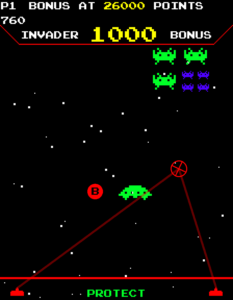 Space Invaders Frenzy Raw Thrills Inc