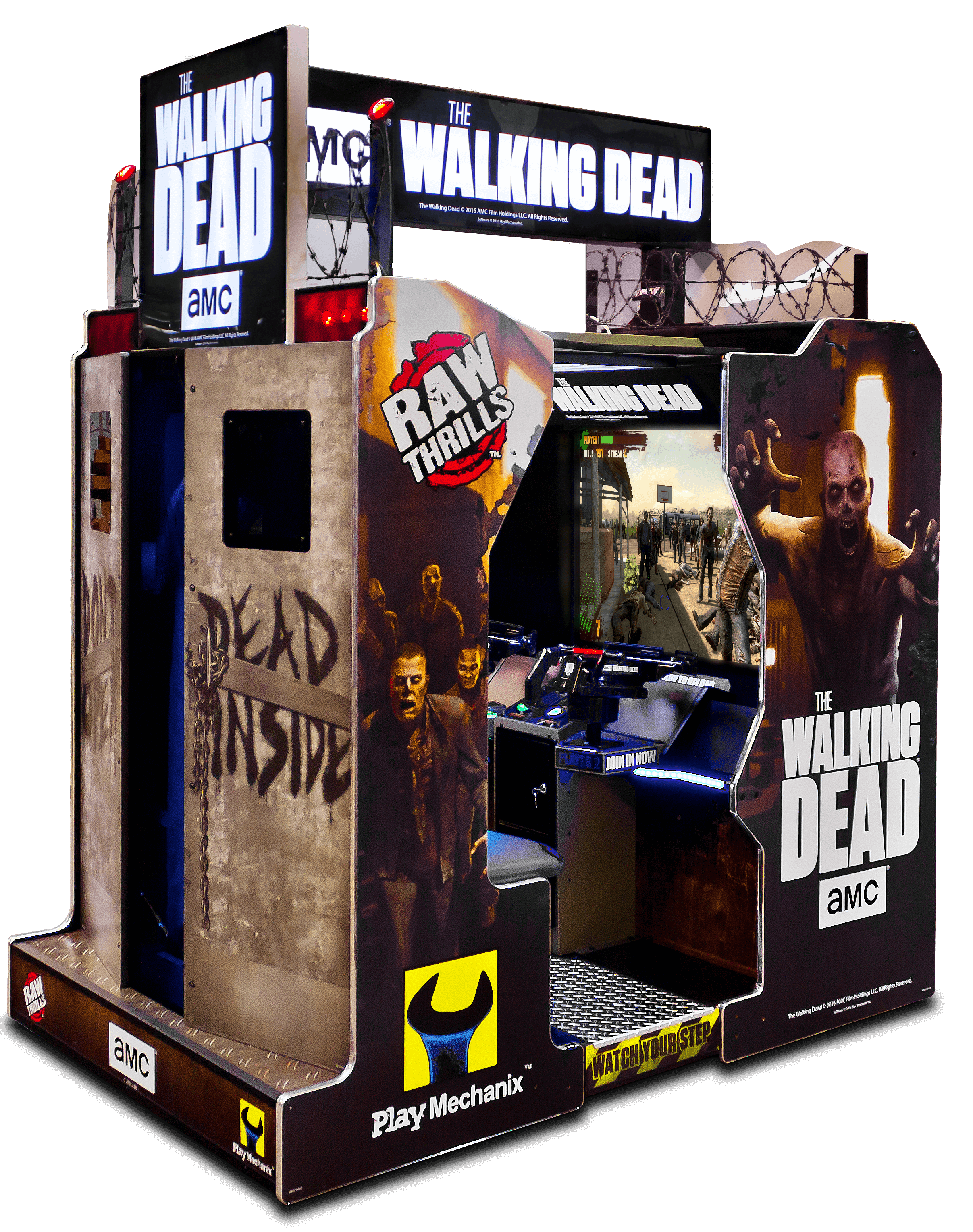 Walking Dead Arcade Raw Thrills Inc