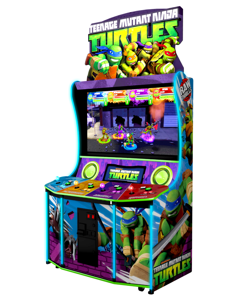 TMNT – Raw Thrills, Inc