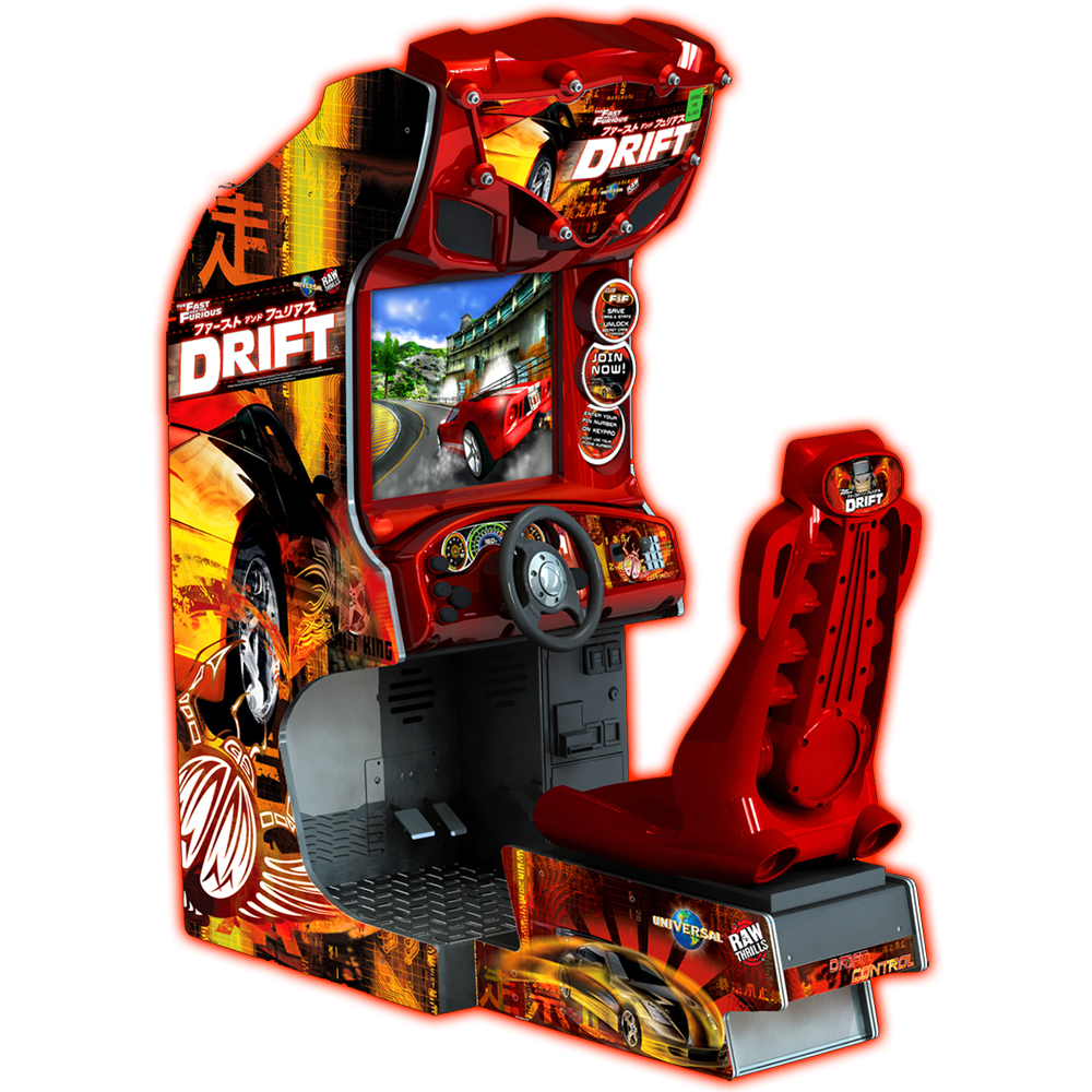The Fast and the Furious™ Drift – Raw Thrills, Inc