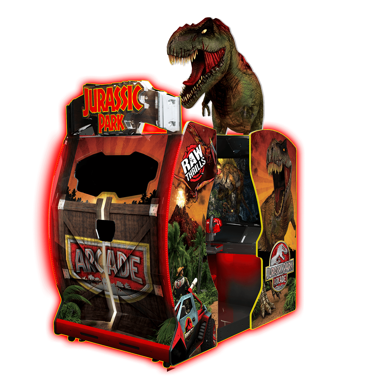 Jurassic Park Arcade – Raw Thrills, Inc.