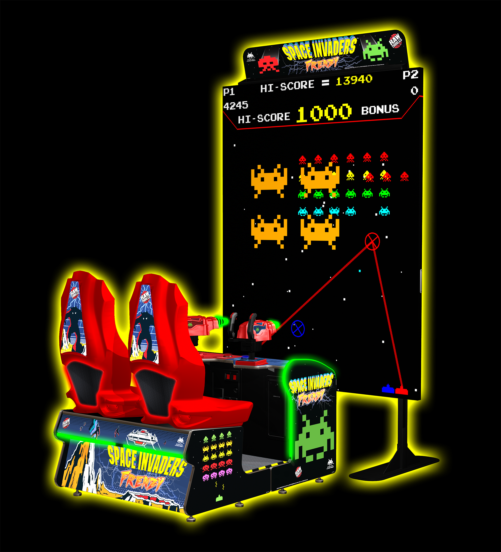Space Invaders FRENZY – Raw Thrills, Inc.