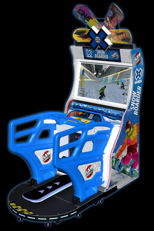 X Games Snowboarder Raw Thrills Inc