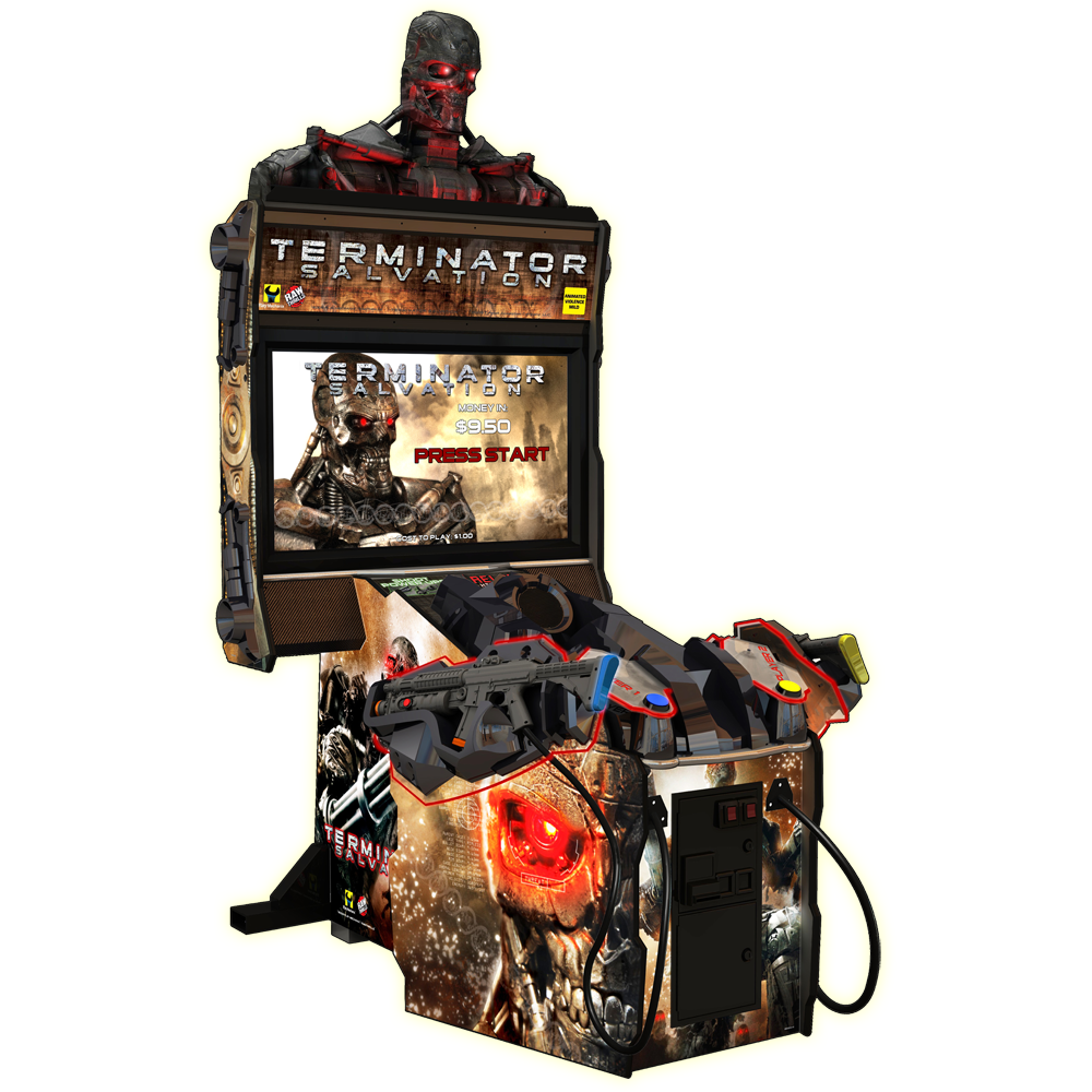 terminator salvation™ – raw thrills, inc.